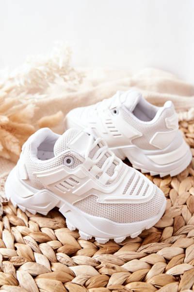 Dziecięce Sneakersy Białe Freak Out